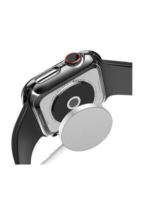Dijimedia Apple Watch Series 4-5 44mm 360 Derece Koruma+kırılmaz Cam 1