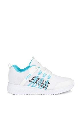 Vicco Active Unisex Çocuk Beyaz Spor Ayakkabı 2