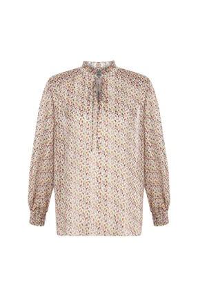 İpekyol Desenli Bluz 3