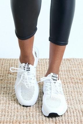 Tonny Black Unısex Beyaz Spor Ayakkabı 4