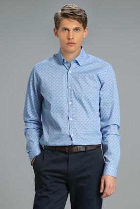 Picture of Allen Smart Gömlek Slim Fit Saks
