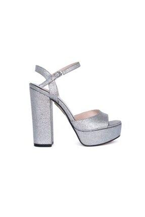 Kemal Tanca Kadın Gümüş Ayakkabı 0