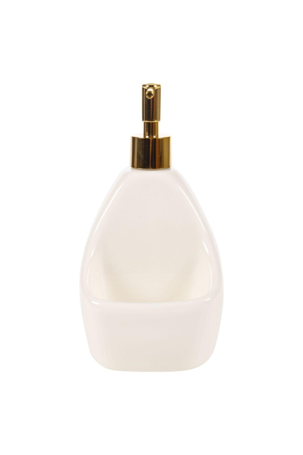 Glory Hazneli Sıvı Sabunluk - Beyaz