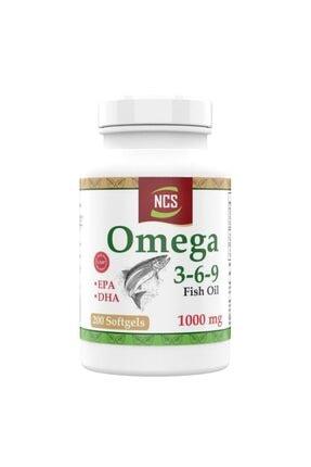 Ncs Omega 3 6 9 Balık Yağı 200 Softgel 0