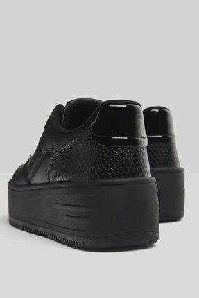 Bershka Taşlı Platform Spor Ayakkabı 4