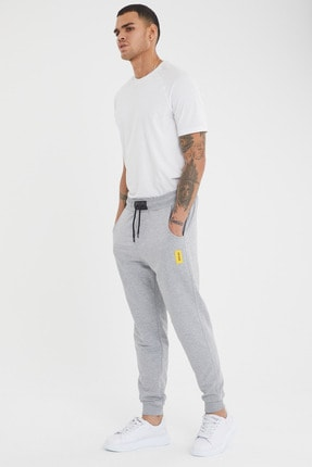 MaesSE Erkek gri günlük eşofman altı jeans fashion 1