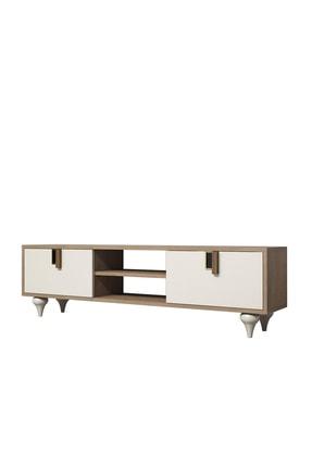 Cool Home Milas 150 Cm Ceviz-beyaz Tv Ünitesi 3