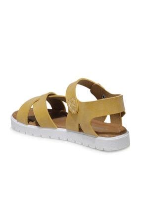 Polaris 508159.P1FX Sarı Kız Çocuk Sandalet 101010672 2