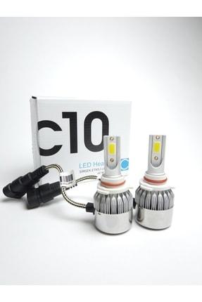 C10 H7 Led Xenon Soğurma Fanlı Led Zenon Far Ampulü Yeni Nesil Şimşek Etkili 0