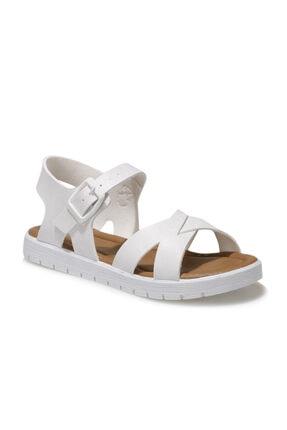 Polaris 508159.F1FX Beyaz Kız Çocuk Sandalet 101010667 0