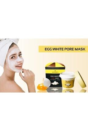 Venzen Egg White Pore Gözenek Maskesi (125g)-gözenek Temizleyici,sıkılaştırıcı Maske 4