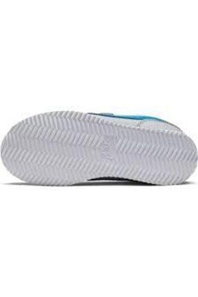 Nike Cortez Basic Sl Gri Çocuk Spor Ayakkabı 4