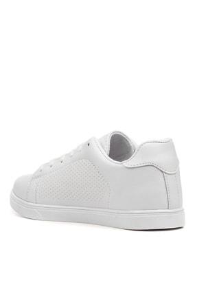YABUMAN Kadın Beyaz Sneaker Ysn01257kd00 4