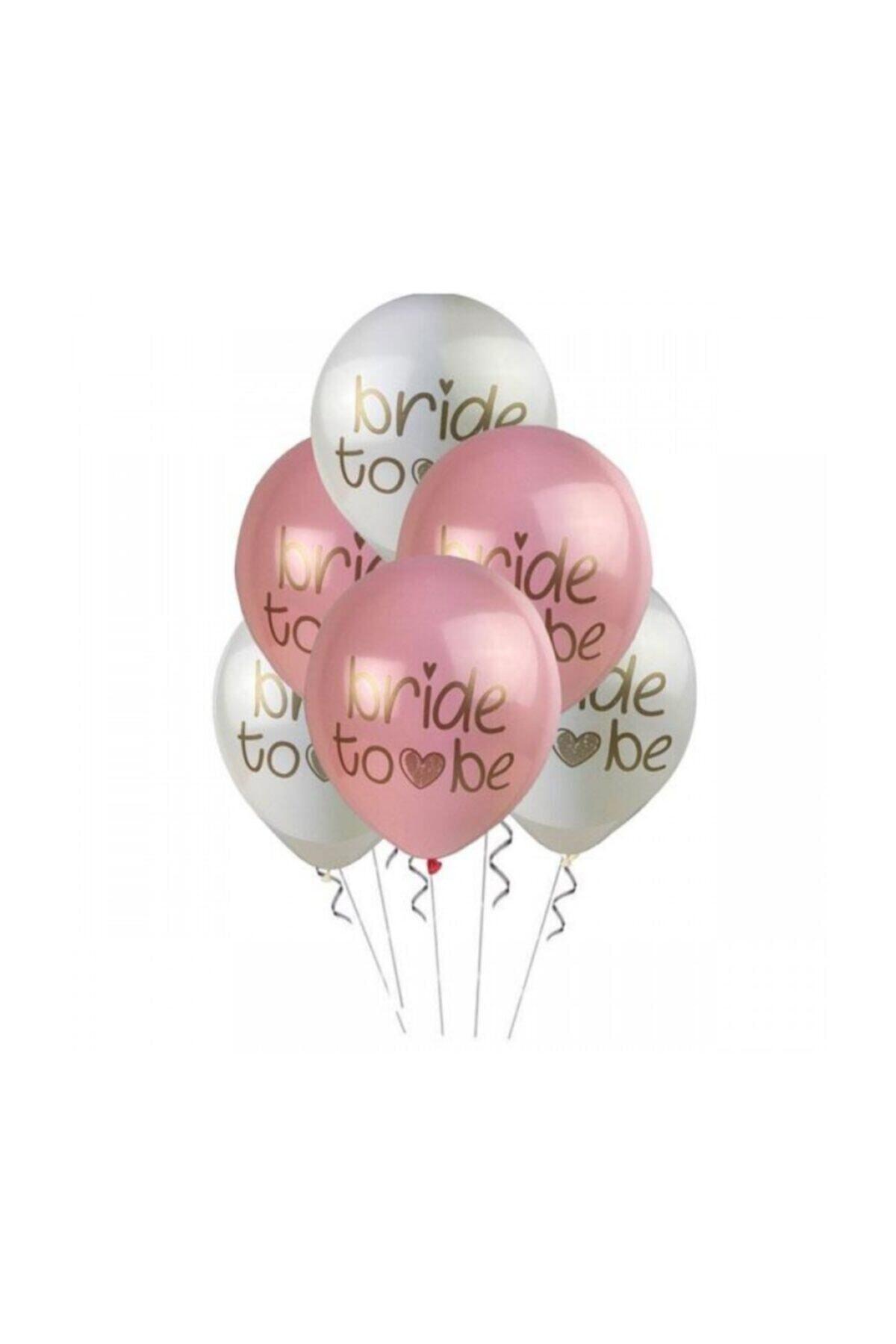 "Bride To Be Kalisan Marka 12"" Inç Balon 5 Adet"