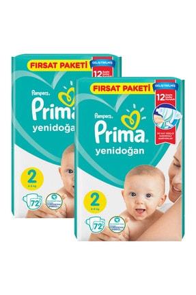 Prima Bebek Bezi Aktif Bebek 2 Beden 144 Adet Standard Paket 1