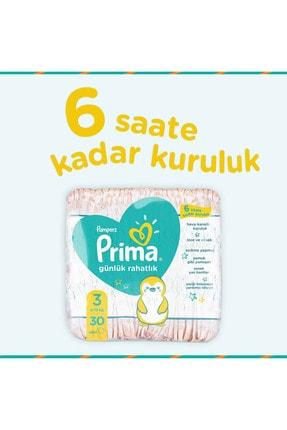 Prima Bebek Bezi Günlük Rahatlık 3 Beden 120 Adet Tekli Paket 30x4 3