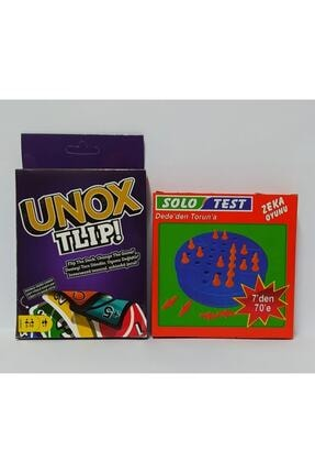 Brother Toys Unox Tlip 1142 Kartlı Oyun Seti Ve Solo Test Dede'den Torun'a Zeka Testi Oyunu 0