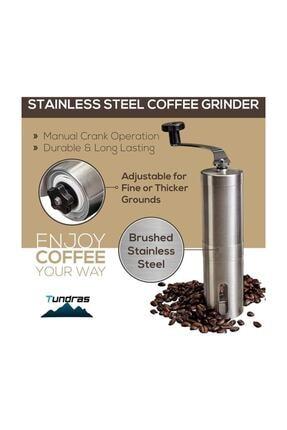 Havana Mini Kahve Öğütücü El Değirmeni Paslanmaz Çelik 2
