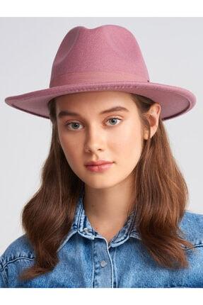 Dilvin Kadın Pudra Fötr Şapka 186A01567 0