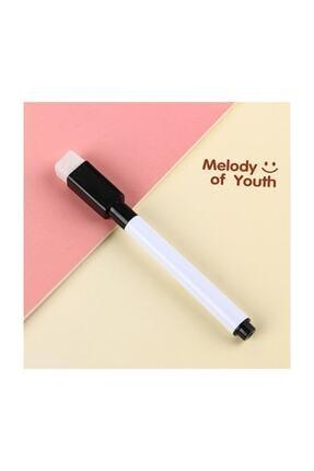 EKAP-35 10 Adet Silgili Akıllı Beyaz Tahta Kalemi - Silinebilir Siyah Renk Tahta Kalemi 3