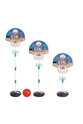 Hitfoni Çocuk Basketbol Potası Yükseklik Ayarlanabilir Kutulu Ayaklı Basket Eğitim Potası 0