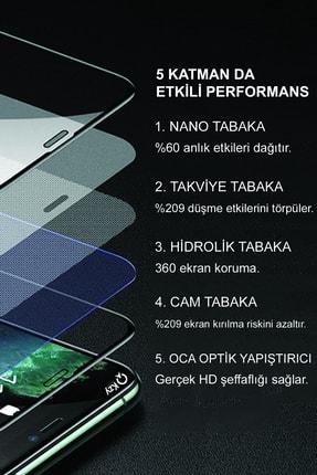 KZY İletişim Samsung Galaxy M31s Tam Kaplayan Seramik Nano Esnek Ekran Koruyucu 2