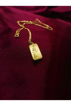 Ineffable Jewerly Silüet Kolye Rose Gold Kaplama 925 Ayar Gümüş Kolye 2