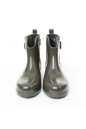 Tommy Hilfiger Kadın Yağmur Botu - Yeşil 4