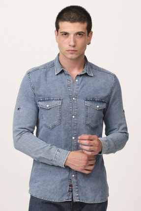 Rodi Jeans Erkek Alex 012 Gömlek 1