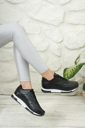 Moda Değirmeni Unisex Siyah Sneaker Ayakkabı Md1053-101-0001 2