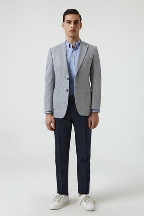 D'S Damat Lacivert Renk Erkek  Ceket (Slim Fit) 4