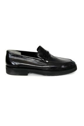 Oğuzhan Ayakkabı Erkek Siyah  Yumuşak Ayakkabı %100 El Yapımı Sidney Serisi 1