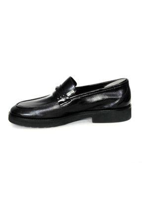 Oğuzhan Ayakkabı Erkek Siyah  Yumuşak Ayakkabı %100 El Yapımı Sidney Serisi 2