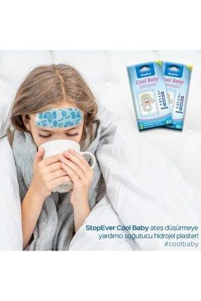 StopEver Cool Baby Ateş Düşürmeye Yardımcı Soğutucu Hidrojel Plaster - 1 Adet 3