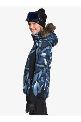 Roxy Kadın Mavi Jet Ski Premium Kayak Ve Snowboard Montu 1