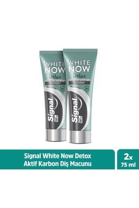 Signal White Now Detox Kil Minerali & Aktif Karbon Diş Macunu 75 ml X2 0