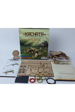 Kachata Hobi Oyuncak İmalat Ve Ticaret Ltd. Şti Kachata Balista Kuşkencir 3d Ahşap Puzzle Yapboz 1