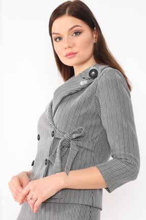 etselements Kadın Gri Takım Elbise 2