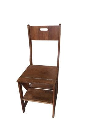 TAHTACI Ahşap Merdiven Sandalye 0