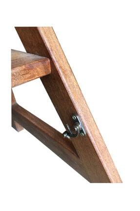 TAHTACI Ahşap Merdiven Sandalye 3