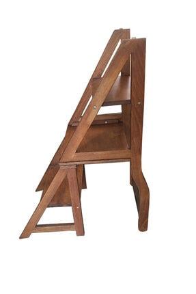 TAHTACI Ahşap Merdiven Sandalye 4