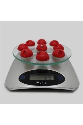 Techmaster 5 Kg Dijital Cam Platform Mutfak Terazisi Tartısı 1 Gr Hassasiyet 2