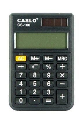 Caslo Cep Tipi Hesap Makinesi Cs100 0