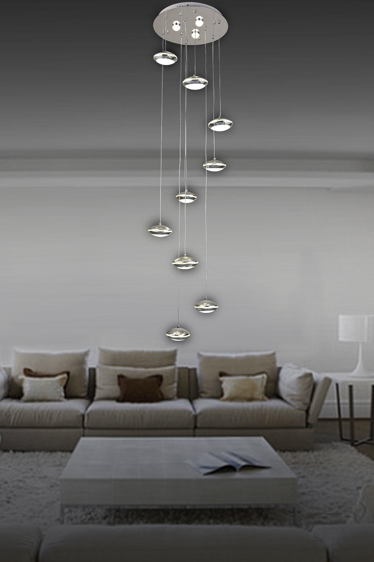 Luna Lighting Modern Luxury Sarkıt 20'lu Led Avize Fiyatı ...