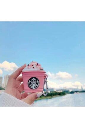 Bilişim Aksesuar Apple Airpods Koruyucu Kılıf Pembe Köpüklü Kahve - Airpods 1 Ve 2 0