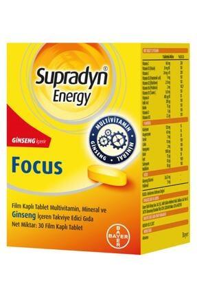 Supradyn Energy Focus Multivitamin 30 Tablet 0