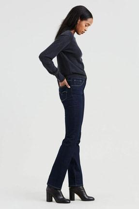 Levi's Kadın Mavi 724 High Rise Straight Jeans 1