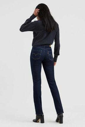 Levi's Kadın Mavi 724 High Rise Straight Jeans 2