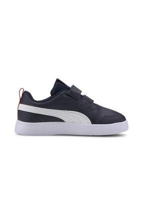 Puma COURTFLEX V2 V PS Lacivert Erkek Çocuk Sneaker Ayakkabı 101085088 2