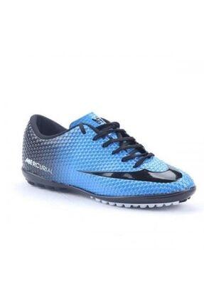 Walked Erkek Mavi Halısaha Futbol Spor Ayakkabı 1